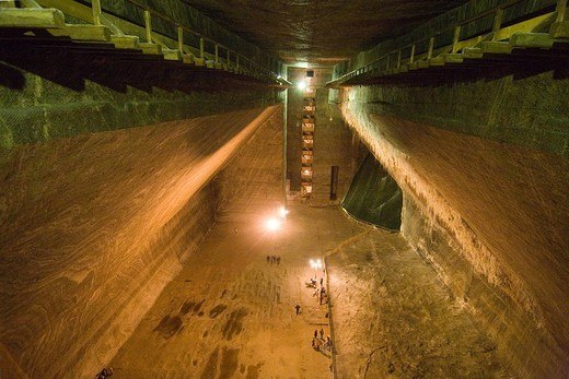 Stock Photo: 3153-728393 europe, romania, transylvania, cluj napoca, salt mine