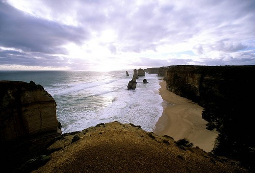 twelve apostles, great ocean road, australia : Stock Photo