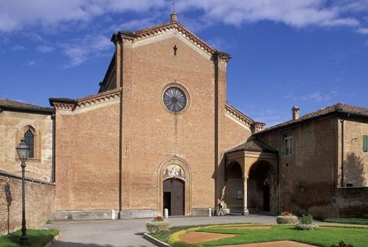 Stock Photo: 3153-731652 st. maria degli angeli church, busseto, italy