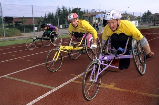 sport, disability : Stock Photo