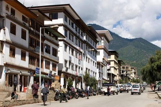 Stock Photo: 3153-732954 Bhutan. Thimphu.