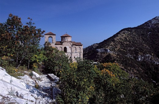 Stock Photo: 3153-735104 Asenova Monastery. BULGARIA