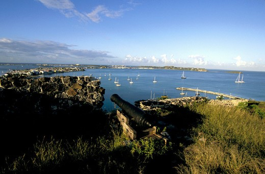 caribbean, saint martin, marigot, nettle bay : Stock Photo