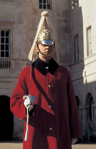 great britain, england, london, horse guardsman : Stock Photo