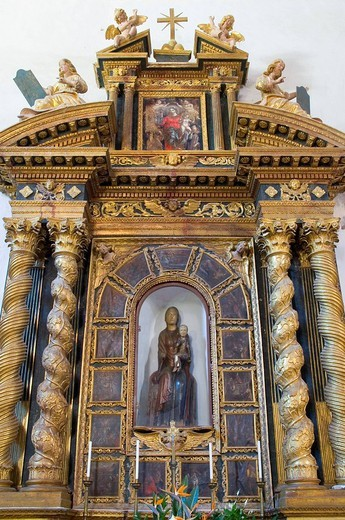 Stock Photo: 3153-740499 macereto sanctuary, visso, monti sibillini national park, marche, italy