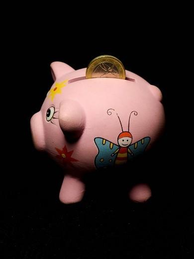 Stock Photo: 3153-740717 piggy bank