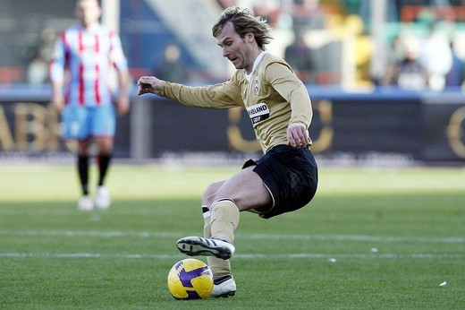 Stock Photo: 3153-740736 pavel nedved,catania 2009 ,serie a football championship 2008/2009 ,catania_juventus