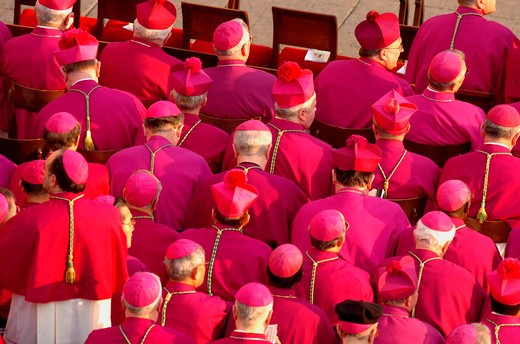 città del vaticano, april 8th 2005, pope john paul II funeral : Stock Photo