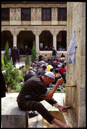 macedonia, tetovo, mustafà pasha mosque : Stock Photo