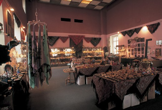 Stock Photo: 3153-746601 russia, moscow, roza azora gallery