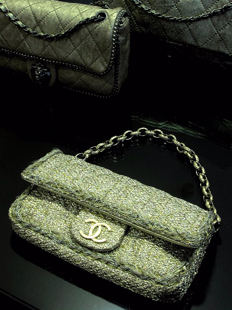 chanel accessories : Stock Photo