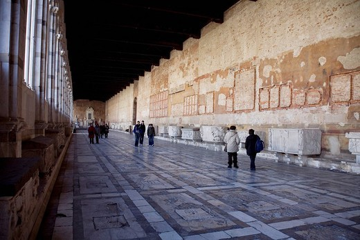 Stock Photo: 3153-748654 camposanto monumentale, pisa, tuscany, italy