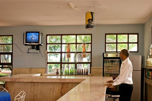 bar, bayamo, cuba : Stock Photo