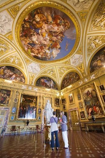 Stock Photo: 3153-748863 palazzo pitti, galleria palatina, firenze, toscana, italia, europa