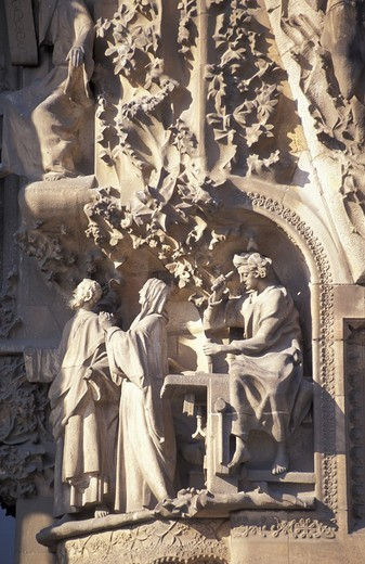Stock Photo: 3153-749186 sagrada familia, barcelona, spain