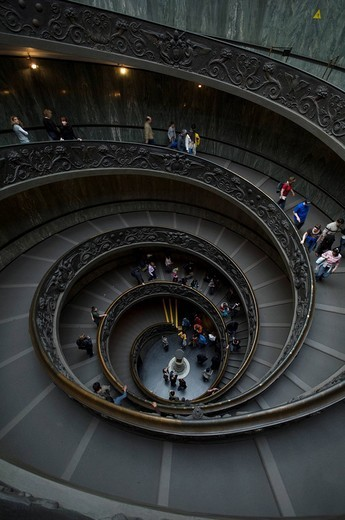 vatican museums, rome, lazio, italy : Stock Photo