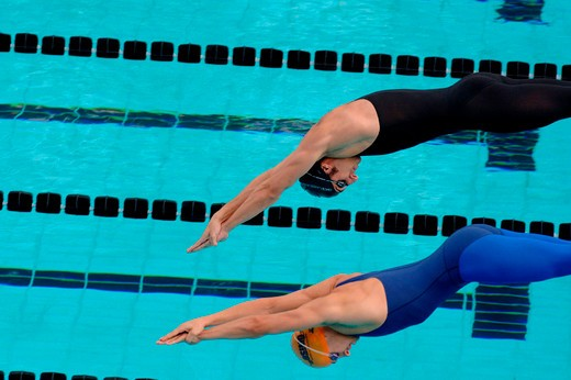 Stock Photo: 3153-751723 swimming