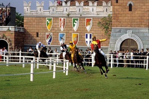 Stock Photo: 3153-754037 palio, sagra del carroccio, legnano, lombardia, italy