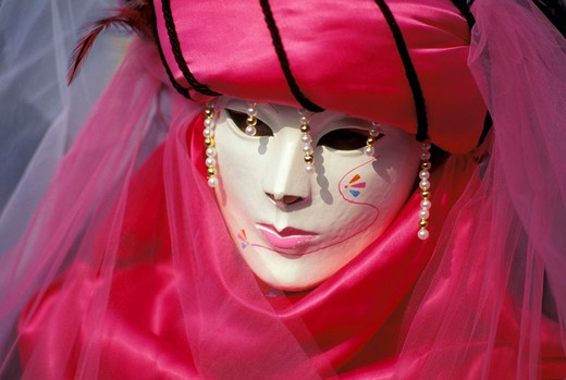Stock Photo: 3153-755708 carnival and mask, venice, italy