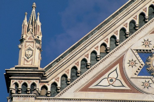Stock Photo: 3153-756095 italy, tuscany, florence, santa croce church