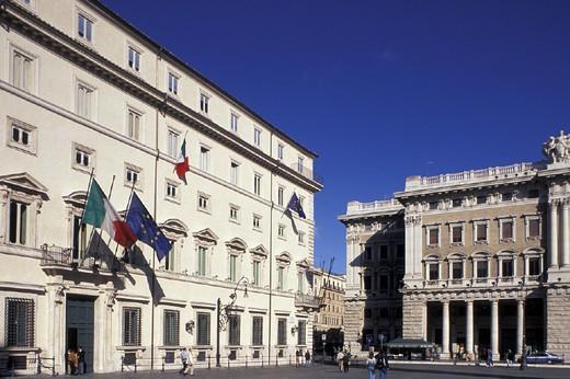 Stock Photo: 3153-757036 palazzo chigi, rome, italy