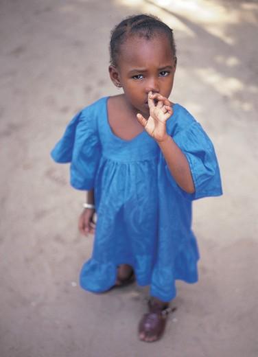 Stock Photo: 3153-758473 child, banjul, gambia