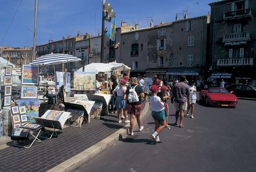 Stock Photo: 3153-759413 france, saint tropez