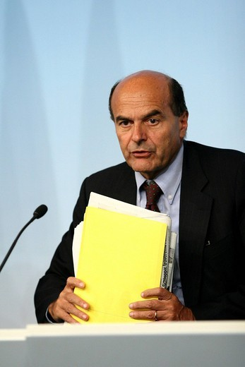 pierluigi bersani : Stock Photo