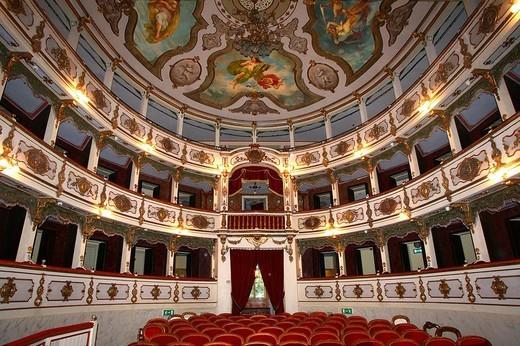 Stock Photo: 3153-762493 teatro verdi, busseto, emilia romagna, italia