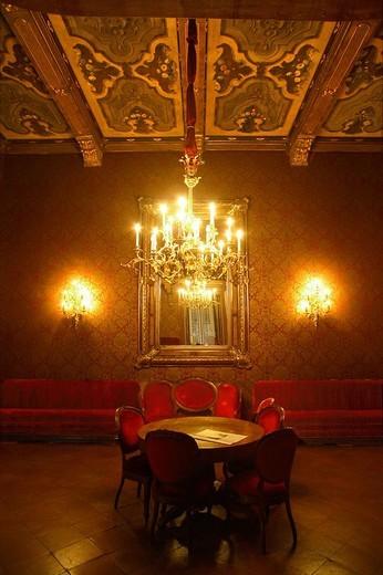 Stock Photo: 3153-764425 teatro verdi, busseto, emilia romagna, italia