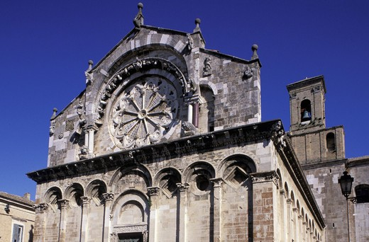 Stock Photo: 3153-764877 cathedral, troia, italy