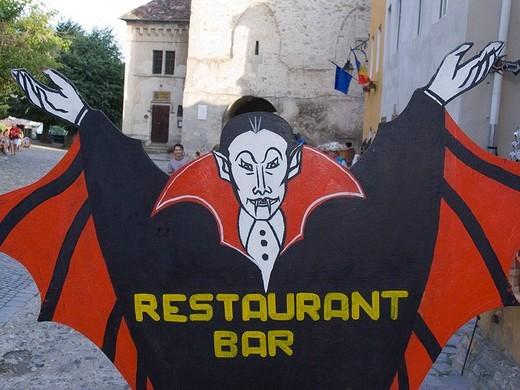 europe, romania, transylvania, sighisoara, drakula : Stock Photo