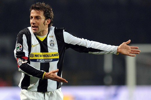 Stock Photo: 3153-766110 alessandro del piero ,torino 04_02_2009 ,italian football cup 2008_2009 ,juventus_napoli