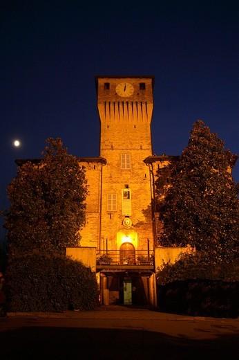 rocca dei terzi, sissa, emilia romagna, italia : Stock Photo