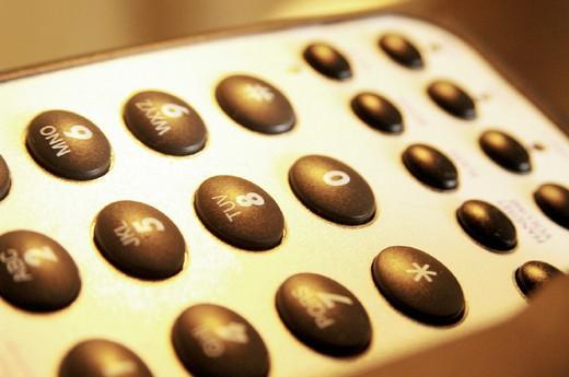Stock Photo: 3153-766892 remote control tv