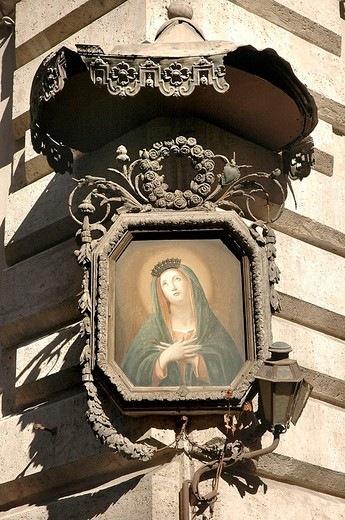 europe, italy, lazio, rome, marian aedicule : Stock Photo