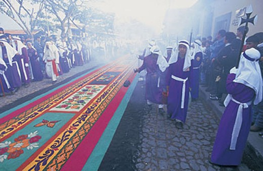 america, guatemala, antigua, semana santa : Stock Photo