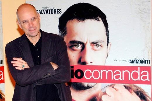 gabriele salvatores,milan 11_11_2008 ,come dio comanda movie presentation,photo a.berti/markanews : Stock Photo