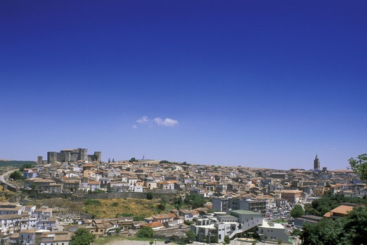 small town view, melfi, italy : Stock Photo