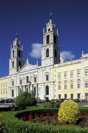 palacio nacional, mafra, portugal : Stock Photo