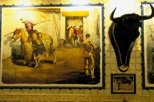 spain, madrid, la taurina : Stock Photo