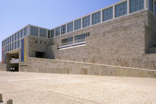 cultural centre museum, lisbon, portugal : Stock Photo