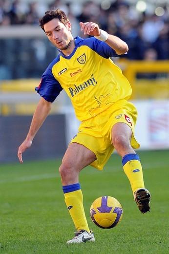 andrea mantovani,torino 2009 ,serie a football championship 2008_2009 ,torino_chievo : Stock Photo