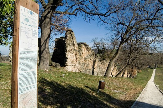 Stock Photo: 3153-771979 urbisaglia, archeological area, marche, italy