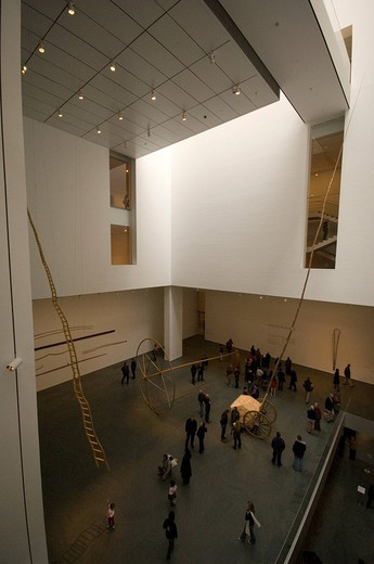 martin puryear sculptures, MoMA, new york, usa : Stock Photo