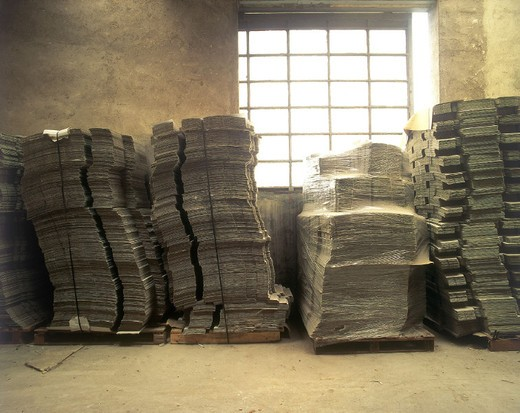 paper factory : Stock Photo