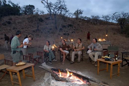 Stock Photo: 3153-775073 africa, kenya, campi ya kanzi, safari
