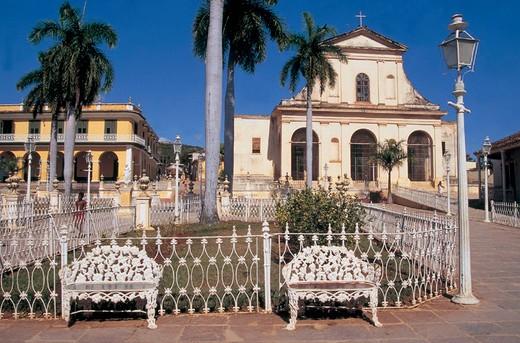 cuba, trinidad, holy trinity church : Stock Photo