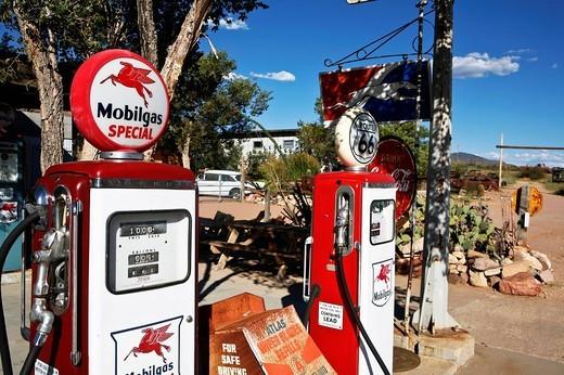 Stock Photo: 3153-777860 route 66, arizona, usa