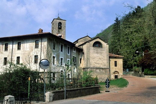 Stock Photo: 3153-779388 san gemolo abbey, ganna, lombardy, italy
